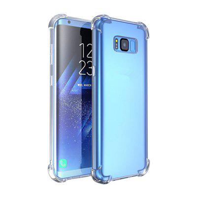 Anti-Knock Rubber Clear Ultra Thin Case Cover for Samsung Galaxy S8