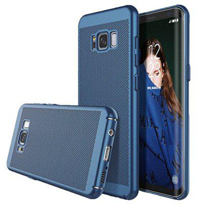 Newest Breathe Matte Case Plating Hollow PC Cover for Samsung Galaxy S8
