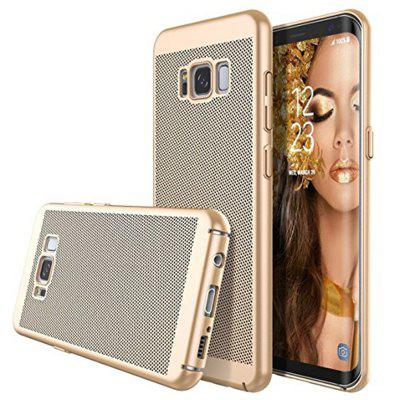 Buy Newest Breathe Matte Case Plating Hollow PC Cover for Samsung Galaxy S8, GOLDEN, Mobile Phones, Cell Phone Accessories, Samsung Accessories, Samsung S Series for $4.39 in GearBest store