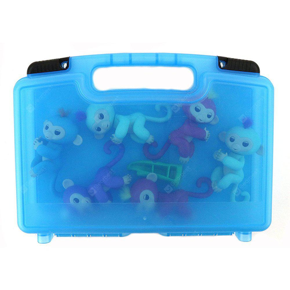 Storage Organizer Fits 6 Interactive Monkeys Durable Carrying Case