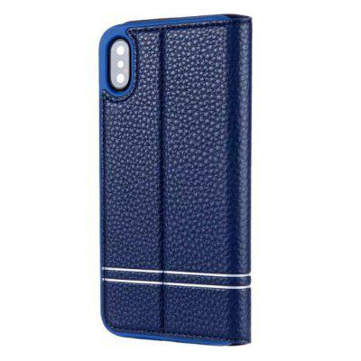 PU Leather Flip Wallet Card Case For iPhone XiPhone Cases/Covers<br>PU Leather Flip Wallet Card Case For iPhone X<br><br>Compatible for Apple: iPhone X<br>Features: Cases with Stand, With Credit Card Holder, Anti-knock, Dirt-resistant, FullBody Cases<br>Material: PU Leather, Silicone<br>Package Contents: 1 x Phone Case<br>Package size (L x W x H): 18.00 x 8.00 x 3.00 cm / 7.09 x 3.15 x 1.18 inches<br>Package weight: 0.0450 kg<br>Product weight: 0.0400 kg<br>Style: Solid Color