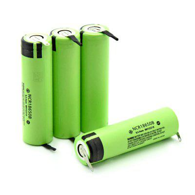 Soshine 18650 Battery 3400mAh 3.7V 4PCS
