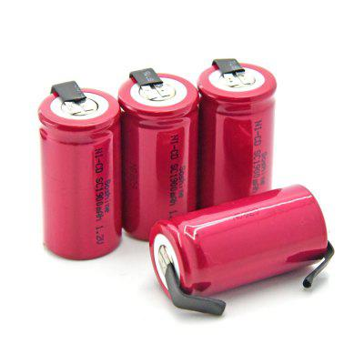 Soshine Sub C Ni-Cd Battery 1900mAh 1.2V 4PCS