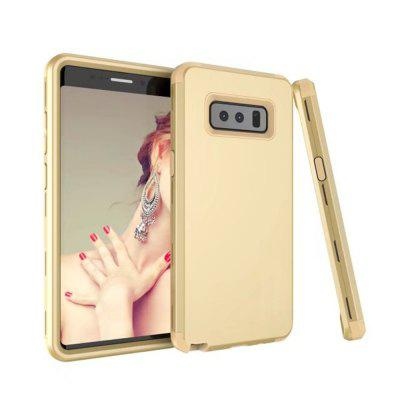 Buy GOLDEN Galaxy Note8 Case 3 in 1Premium Slim Lightweight Scratch Resistant Fit Cover Hard PC+ Soft Silicone Full-Body Protective Case for $17.00 in GearBest store