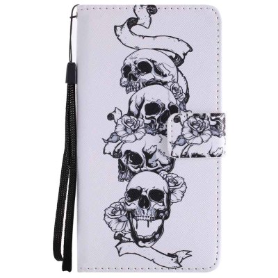 Skull Explosions Painted Pu Phone Case for HUAWEI Mate 10Cases &amp; Leather<br>Skull Explosions Painted Pu Phone Case for HUAWEI Mate 10<br><br>Features: Full Body Cases, Cases with Stand, With Credit Card Holder, With Lanyard, Dirt-resistant<br>Mainly Compatible with: HUAWEI<br>Material: TPU, PU Leather<br>Package Contents: 1 x Phone Case<br>Package size (L x W x H): 16.00 x 8.50 x 1.80 cm / 6.3 x 3.35 x 0.71 inches<br>Package weight: 0.0750 kg<br>Style: Novelty, Pattern, Mixed Color