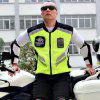Riding Tribe Motorcycle Reflective Vest Clothing Motocross Body Armour Protection Jackets Clothes - NEON GREEN