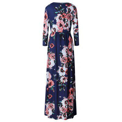 2017 New Long-Sleeved Printed DressWomens Dresses<br>2017 New Long-Sleeved Printed Dress<br><br>Dresses Length: Ankle-Length<br>Elasticity: Elastic<br>Fabric Type: Jersey<br>Material: Polyester<br>Neckline: Round Collar<br>Package Contents: 1 ? Dress<br>Pattern Type: Floral<br>Season: Fall<br>Silhouette: A-Line<br>Sleeve Length: Long Sleeves<br>Style: Fashion<br>Weight: 0.5000kg<br>With Belt: No