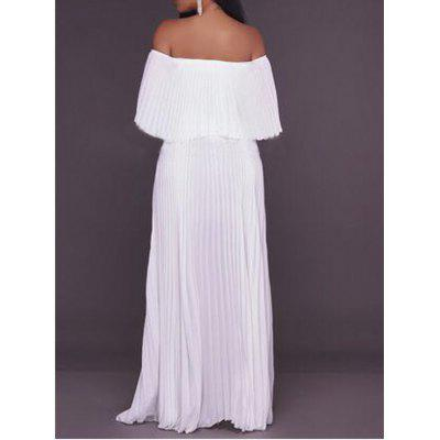 2017 New Type of Collar with Bare Shoulder Chiffon DressMaxi Dresses<br>2017 New Type of Collar with Bare Shoulder Chiffon Dress<br><br>Dresses Length: Ankle-Length<br>Elasticity: Elastic<br>Fabric Type: Jersey<br>Material: Polyester<br>Neckline: Boat Neck<br>Package Contents: 1 ? Dress<br>Pattern Type: Solid<br>Season: Fall<br>Silhouette: A-Line<br>Sleeve Length: Long Sleeves<br>Style: Brief<br>Weight: 0.6000kg<br>With Belt: No