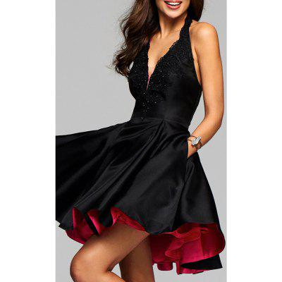 2017 New Sexy Deep V Neck Sleeveless DressMini Dresses<br>2017 New Sexy Deep V Neck Sleeveless Dress<br><br>Dresses Length: Mini<br>Elasticity: Elastic<br>Fabric Type: Jersey<br>Material: Polyester<br>Neckline: V-Neck<br>Package Contents: 1 ? Dress<br>Pattern Type: Solid<br>Season: Fall<br>Silhouette: A-Line<br>Sleeve Length: Sleeveless<br>Style: Sweet<br>Weight: 0.5000kg<br>With Belt: No