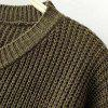 Long Sleeved Loose Turtleneck Sweater Cuff Pure Female - ARMYGREEN