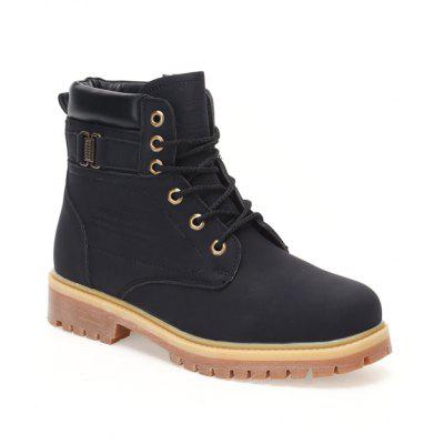 Men'S Outdoor Labor Protection Work Snow Warm Protection High Boots