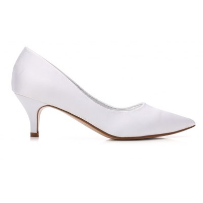 Womens Wedding Shoes Kitten Heel Comfort Basic Pump Spring Summer Satin Wedding Dress Party ShoesWomens Pumps<br>Womens Wedding Shoes Kitten Heel Comfort Basic Pump Spring Summer Satin Wedding Dress Party Shoes<br><br>Available Size: 36 37 38 39 40 41 42<br>Heel Height: 6cm<br>Heel Height Range: Med(1.75-2.75)<br>Heel Type: Kitten Heel<br>Insole Material: PU<br>Lining Material: Satin<br>Occasion: Wedding<br>Outsole Material: Rubber<br>Package Contents: 1 x Shoes?pair?<br>Pumps Type: Basic<br>Season: Summer<br>Toe Shape: Pointed Toe<br>Toe Style: Closed Toe<br>Upper Material: Satin<br>Weight: 1.0440kg