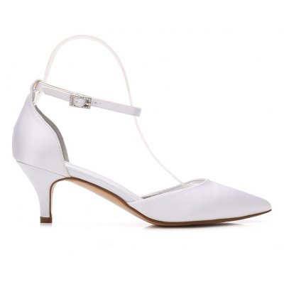 Womens Wedding Shoes Comfort  Basic Pump Ankle Strap Spring Summer   RhinestoneWomens Pumps<br>Womens Wedding Shoes Comfort  Basic Pump Ankle Strap Spring Summer   Rhinestone<br><br>Heel Height: 6cm<br>Heel Height Range: Med(1.75-2.75)<br>Heel Type: Kitten Heel<br>Insole Material: PU<br>Lining Material: PU<br>Occasion: Wedding<br>Outsole Material: Rubber<br>Package Contents: 1 x Shoes?pair?<br>Pumps Type: Basic<br>Season: Summer<br>Toe Shape: Pointed Toe<br>Toe Style: Closed Toe<br>Upper Material: Satin<br>Weight: 1.0440kg