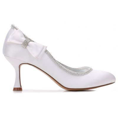 Womens Wedding Shoes Comfort  Basic Pump Ankle Strap Spring Summer Satin Wedding Dress Party EveningWomens Pumps<br>Womens Wedding Shoes Comfort  Basic Pump Ankle Strap Spring Summer Satin Wedding Dress Party Evening<br><br>Available Size: 36 37 38 39 40 41 42<br>Embellishment: Metal<br>Heel Height: 7<br>Heel Height Range: Med(1.75-2.75)<br>Heel Type: Stiletto Heel<br>Insole Material: PU<br>Lining Material: PU,Satin<br>Occasion: Wedding<br>Outsole Material: Rubber<br>Package Contents: 1 xShoes?pair?<br>Pumps Type: Basic<br>Season: Spring/Fall, Summer, Winter<br>Shoe Width: Medium(B/M)<br>Toe Shape: Round Toe<br>Toe Style: Closed Toe<br>Upper Material: Silk<br>Weight: 1.0440kg