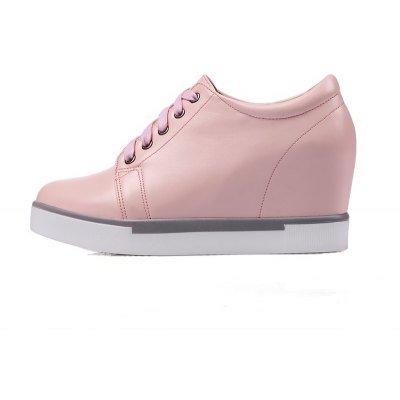 Women Shoes Spring Fall Creepers Casual Wedge Heel Lace-upWomens Casual Shoes<br>Women Shoes Spring Fall Creepers Casual Wedge Heel Lace-up<br><br>Available Size: 34-39<br>Closure Type: Lace-Up<br>Embellishment: None<br>Flat Type: T-Strap<br>Gender: For Women<br>Insole Material: PU<br>Lining Material: PU<br>Occasion: Casual<br>Outsole Material: Rubber<br>Package Contents: 1xShoes(pair)<br>Pattern Type: Solid<br>Season: Summer, Spring/Fall<br>Shoe Width: Medium(B/M)<br>Toe Shape: Round Toe<br>Toe Style: Closed Toe<br>Upper Material: PU<br>Weight: 1.9800kg