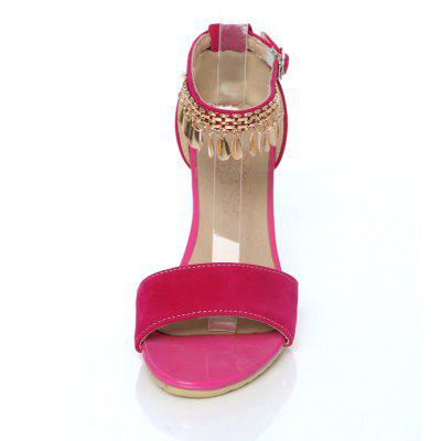 Womens Sandals Summer Comfort Leatherette Wedding Low Heel Buckle Hollow-outWomens Sandals<br>Womens Sandals Summer Comfort Leatherette Wedding Low Heel Buckle Hollow-out<br><br>Available Color: Black blue  pink<br>Available Size: 34-39<br>Closure Type: Buckle Strap<br>Embellishment: Sequined<br>Gender: For Women<br>Heel Height: 3.5<br>Heel Height Range: Low(0.75-1.5)<br>Heel Type: Wedge Heel<br>Insole Material: PU<br>Lining Material: PU<br>Occasion: Casual<br>Outsole Material: Rubber<br>Package Content: 1xShoes(pair)<br>Pattern Type: Solid<br>Platform Height: 1<br>Sandals Style: Ankle Strap<br>Shoe Width: Medium(B/M)<br>Style: Sweet<br>Technology: Adhesive<br>Upper Material: PU<br>Weight: 1.4520kg