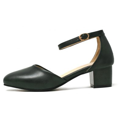 Womens Sandals Summer Dress Chunky Heel Buckle Hollow-outWomens Sandals<br>Womens Sandals Summer Dress Chunky Heel Buckle Hollow-out<br><br>Available Color: Blackish green Beige White pink<br>Available Size: 33-42<br>Closure Type: Buckle Strap<br>Embellishment: Metal<br>Gender: For Women<br>Heel Height: 4.5<br>Heel Height Range: Med(1.75-2.75)<br>Heel Type: Chunky Heel<br>Insole Material: PU<br>Lining Material: PU<br>Occasion: Casual<br>Outsole Material: Rubber<br>Package Content: 1xShoes(pair)<br>Pattern Type: Solid<br>Platform Height: 1<br>Sandals Style: Ankle Strap<br>Shoe Width: Medium(B/M)<br>Style: Elegant<br>Technology: Adhesive<br>Upper Material: PU<br>Weight: 1.5400kg