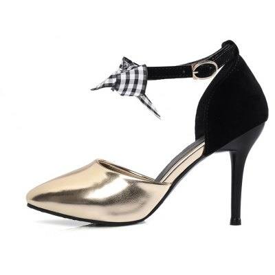 Womens Sandals Summer Club Shoes Dress Stiletto Heel BowknotWomens Sandals<br>Womens Sandals Summer Club Shoes Dress Stiletto Heel Bowknot<br><br>Available Color: Pink Golden Silver<br>Available Size: 34-43<br>Closure Type: Buckle Strap<br>Embellishment: Bow<br>Gender: For Women<br>Heel Height: 9.5<br>Heel Height Range: High(3-3.99)<br>Heel Type: Stiletto Heel<br>Insole Material: PU<br>Lining Material: PU<br>Occasion: Wedding<br>Outsole Material: Rubber<br>Package Content: 1xShoes(pair)<br>Pattern Type: Solid<br>Platform Height: 1<br>Sandals Style: Ankle Strap<br>Shoe Width: Medium(B/M)<br>Style: Elegant<br>Technology: Adhesive<br>Upper Material: PU<br>Weight: 1.5400kg