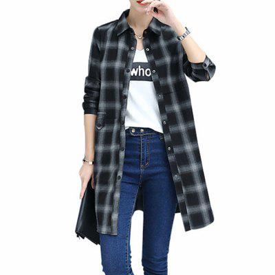 Baggy Blouse with Long Sleeve Blouse