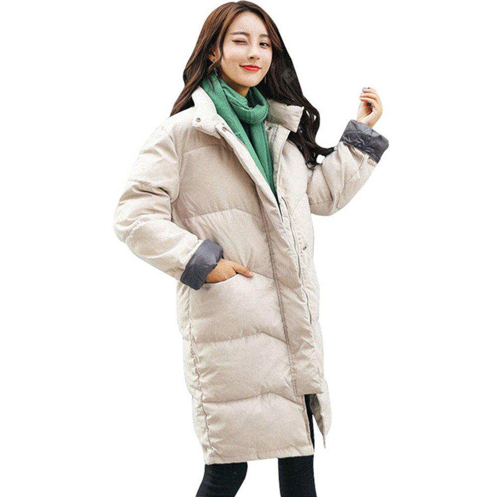 New Loose and Thickened Long Down Jacket