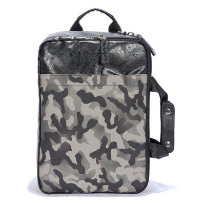 Buy CAMOUFLAGE Camouflage Color Laptop Bag Big Space Handle Backpack for Office Fashion Man for $27.99 in GearBest store