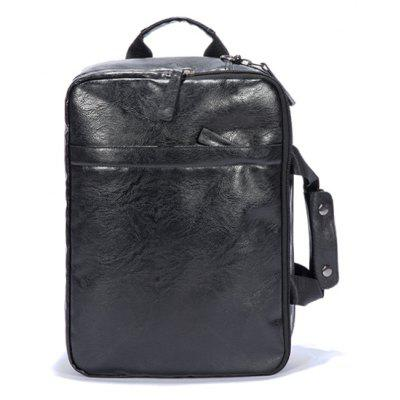 Laptop Large Space Handle Backpack Office Man Fashion Casual Bag