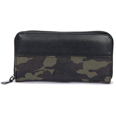 Men's Camouflage Color Fashion Cute Wallet Sporting Outdoor Purse