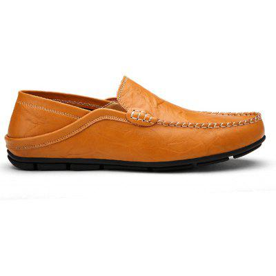 Recreational Leather All-Match Comfortable Breathable ShoesCasual Shoes<br>Recreational Leather All-Match Comfortable Breathable Shoes<br><br>Available Size: 38-44<br>Closure Type: Slip-On<br>Embellishment: None<br>Gender: For Men<br>Outsole Material: Rubber<br>Package Contents: 1 x Shoes ( pair )<br>Pattern Type: Solid<br>Season: Summer, Winter, Spring/Fall<br>Toe Shape: Round Toe<br>Toe Style: Closed Toe<br>Upper Material: Genuine Leather<br>Weight: 1.4852kg