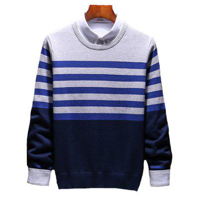 Men's Slim Comfortably Knitted Long Sleeve Sweater