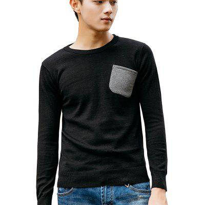 Men's Slim Fit Basic Knitted Pullover Sweaters