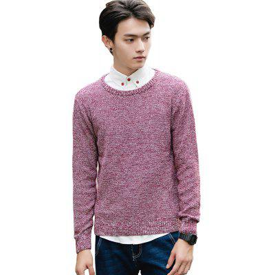 Men's Fashion Casual Slim Fit Pullover Sweaters