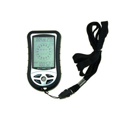 8 in 1 Multifunctional Digital Altimeter with Barometer, Compass, Weather Forecast, Time, Calendar, Thermometer, Backlight Functions
