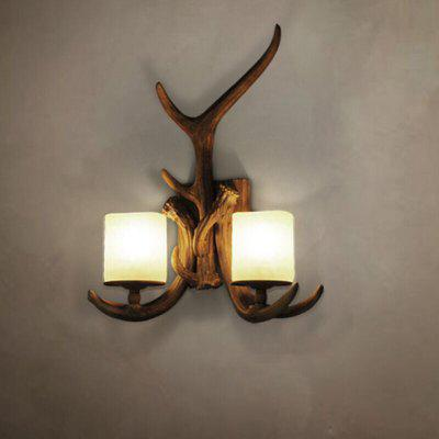 Brightness B8030 / 1W American Country Wall Lamp for Corridor Bedroom 220 - 240V