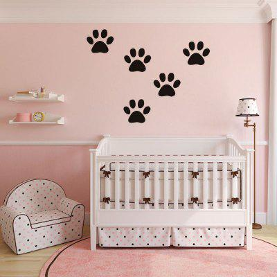 DSU Funny Dog Cat Wall Sticker for Kids Room Home Decoration