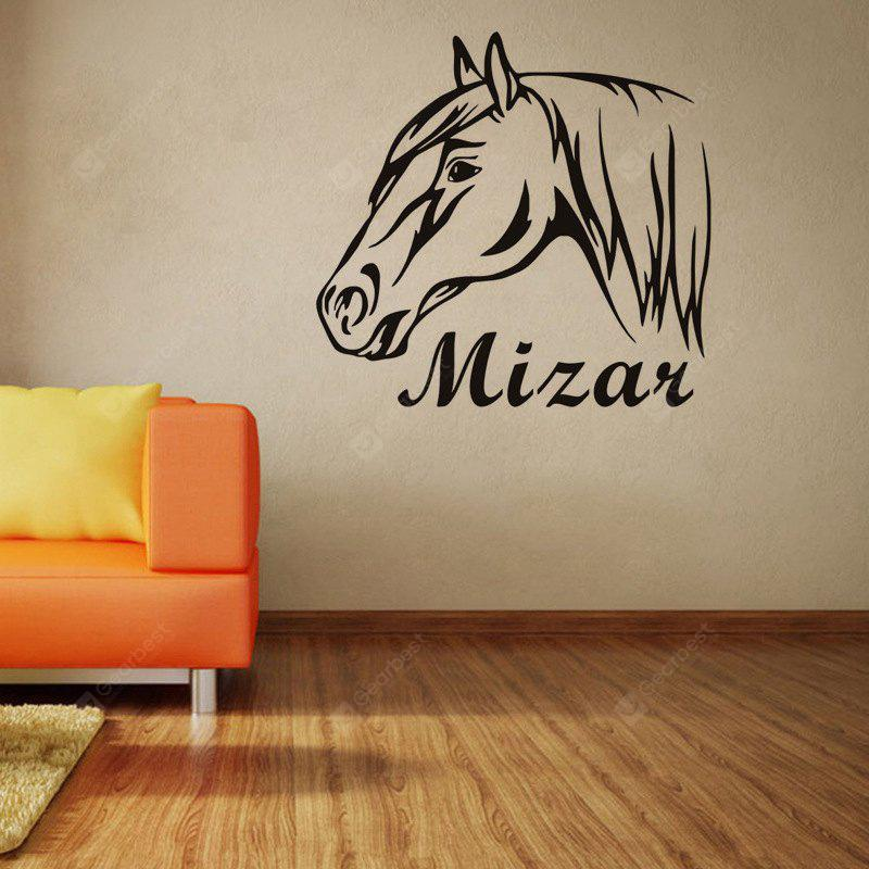 DSU Horse Riding Wall Decal Quote Vinyl Sticker