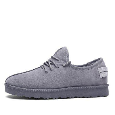 Men Casual Winter Warm Rubber Trend for Fashion Cotton Suede ShoesCasual Shoes<br>Men Casual Winter Warm Rubber Trend for Fashion Cotton Suede Shoes<br><br>Available Size: 39-44<br>Closure Type: Lace-Up<br>Embellishment: None<br>Gender: For Men<br>Outsole Material: Rubber<br>Package Contents: 1?Shoes(pair)<br>Pattern Type: Solid<br>Season: Winter<br>Toe Shape: Round Toe<br>Toe Style: Closed Toe<br>Upper Material: Cotton Fabric<br>Weight: 1.2000kg