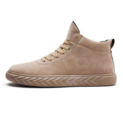 """Men Casual Winter Warm Rubber Leather Trend for Fashion Lace Up Ankle BootsMens Boots<br>Men Casual Winter Warm Rubber Leather Trend for Fashion Lace Up Ankle Boots<br><br>Boot Height: Ankle<br>Boot Type: Fashion Boots<br>Closure Type: Lace-Up<br>Embellishment: None<br>Gender: For Men<br>Heel Hight: Flat(0-0.5"""")<br>Heel Type: Flat Heel<br>Outsole Material: Rubber<br>Package Contents: 1?Shoes(pair)<br>Pattern Type: Solid<br>Season: Winter, Spring/Fall<br>Toe Shape: Round Toe<br>Upper Material: Leather<br>Weight: 1.2000kg"""