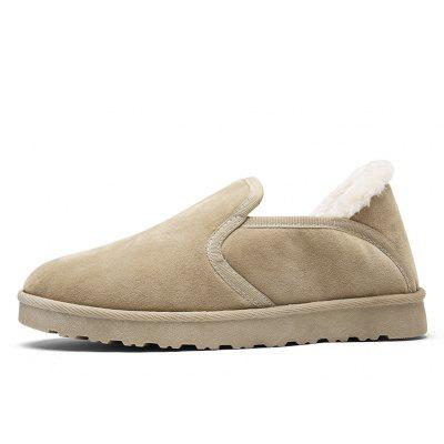 Men Casual Rubber Warm Suede Trend for Fashion Home Slip on ShoesCasual Shoes<br>Men Casual Rubber Warm Suede Trend for Fashion Home Slip on Shoes<br><br>Available Size: 39-44<br>Closure Type: Slip-On<br>Embellishment: None<br>Gender: For Men<br>Outsole Material: Rubber<br>Package Contents: 1?Shoes(pair)<br>Pattern Type: Solid<br>Season: Winter, Spring/Fall<br>Toe Shape: Round Toe<br>Toe Style: Closed Toe<br>Upper Material: Cotton Fabric<br>Weight: 1.2000kg