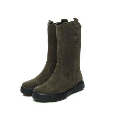 Rivet Sanding Leisure Cylinder BootsWomens Boots<br>Rivet Sanding Leisure Cylinder Boots<br><br>Boot Height: Mid-Calf<br>Boot Type: Snow Boots<br>Closure Type: Slip-On<br>Embellishment: Rivet<br>Gender: For Women<br>Heel Height: 3<br>Heel Height Range: Low(0.75-1.5)<br>Heel Type: Flat Heel<br>Insole Material: PU<br>Lining Material: Plush<br>Outsole Material: Rubber<br>Package Contents: 1xShoes?pair?<br>Pattern Type: Solid<br>Platform Height: 3<br>Season: Winter, Spring/Fall<br>Shoe Width: Wide(C/D/W)<br>Toe Shape: Round Toe<br>Upper Material: Microfiber<br>Weight: 0.9200kg