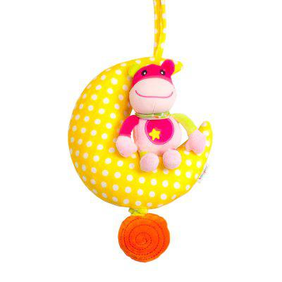 24CM Moon Animal Music Pull Bell