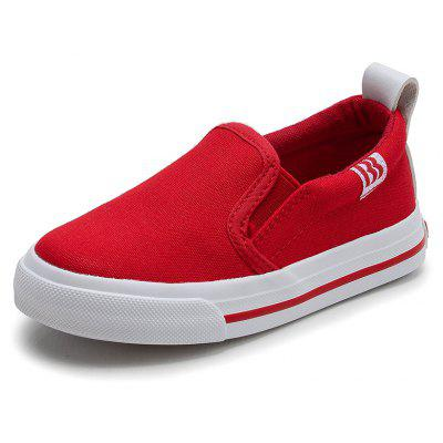 Children's New Canvas Pure Color Classic Lazy Shoes Baby