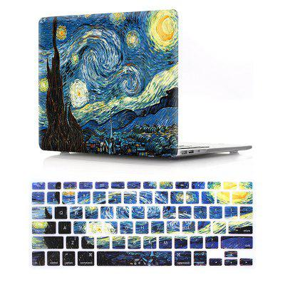 Computer Shell Laptop Case Keyboard Film Set for MacBook Pro 15.4 Inch