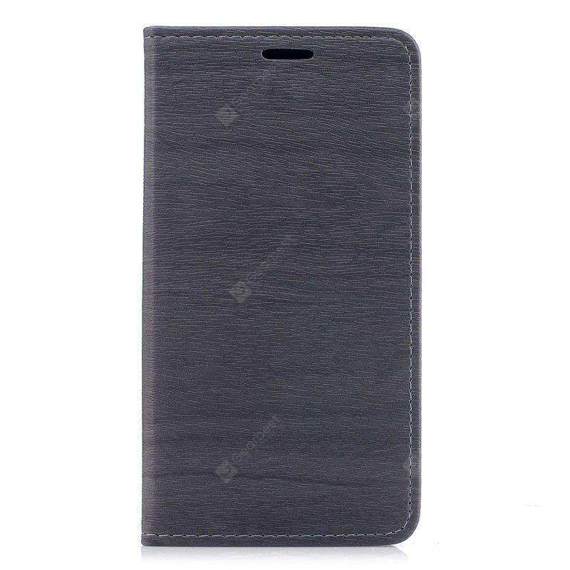 Wood Grain Flip Magnetic PU Leather Phone Cover for Samsung Galaxy J7 2017 J730 EU