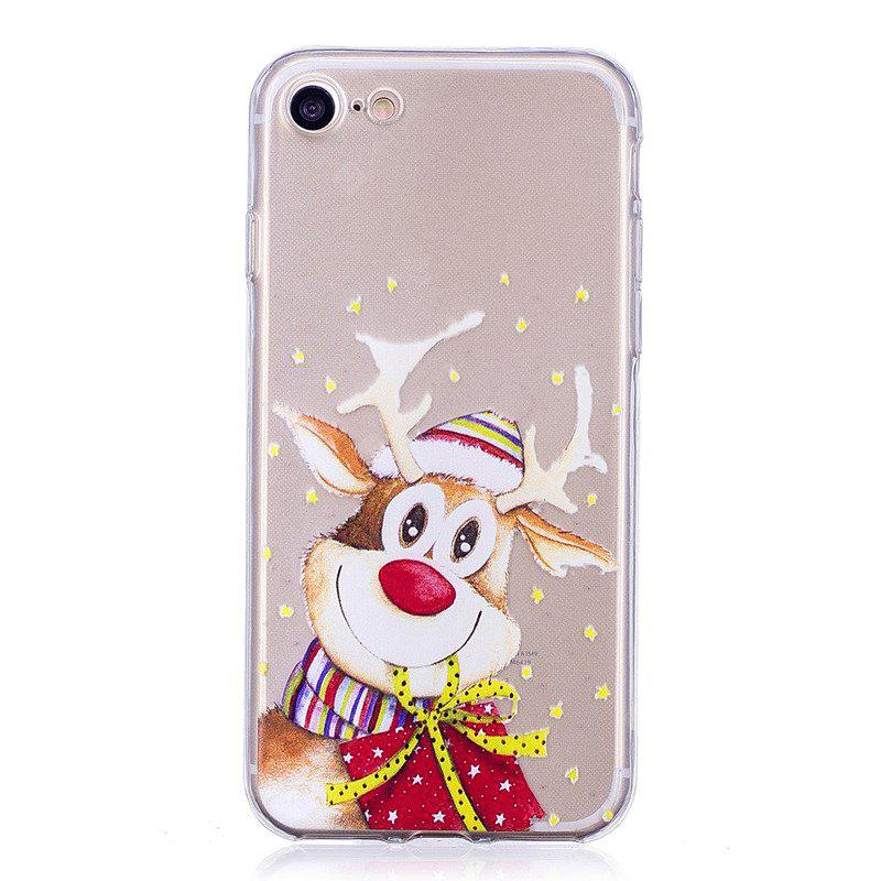 Conjuntos de teléfono Santa Claus Christmas Deer para iPhone 7 Plus