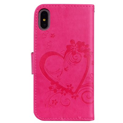 Love Embossed Bracket Mobile Phone Cover for iPhone XiPhone Cases/Covers<br>Love Embossed Bracket Mobile Phone Cover for iPhone X<br><br>Color: Pink,White,Red,Blue,Purple,Brown<br>Compatible for Apple: iPhone X<br>Features: Wallet Case, FullBody Cases, Dirt-resistant, Anti-knock, With Credit Card Holder, Cases with Stand, Bumper Frame<br>Material: PU Leather<br>Package Contents: 1 x Phone Case<br>Package size (L x W x H): 20.00 x 10.50 x 1.50 cm / 7.87 x 4.13 x 0.59 inches<br>Package weight: 0.0500 kg<br>Style: Vintage, Pattern