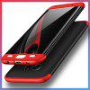 3 in 1 Hard PC 360 Full Protect Back Cover for Samsung Galaxy S7 - BLACK AND RED