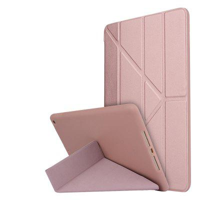For New iPad 9.7 Inch 2017 PU Leather Magentic Smart Cover Soft TPU Back Case