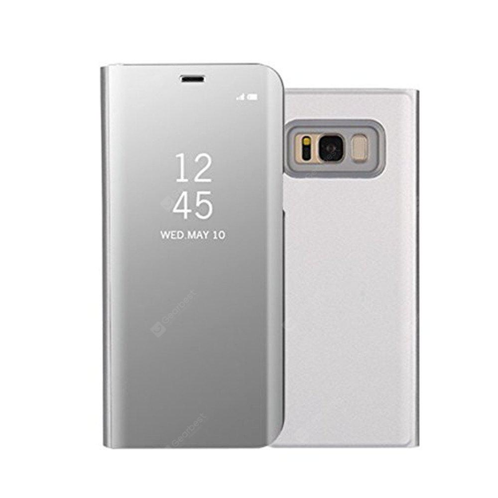 Original Mirror Clear View Smart Cover Phone  For  With Rouse Slim Flip for  Samsung Galaxy S8 Plus Case