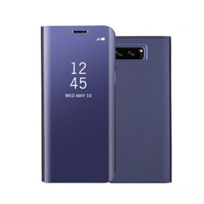 Buy PURPLE for Samsung Galaxy Note 8 Cover with Stand Mirror Auto Sleep/Wake Up Full Body Case Solid Color Hard PU Leather for $5.14 in GearBest store