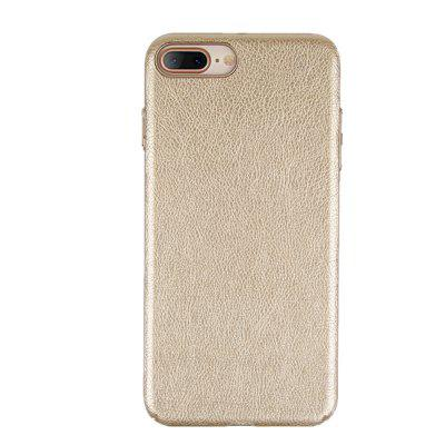 Luxury Dermatoglyph PC Silicone Back Cover Skin for iPhone 8 Plus / 7 Plus CaseiPhone Cases/Covers<br>Luxury Dermatoglyph PC Silicone Back Cover Skin for iPhone 8 Plus / 7 Plus Case<br><br>Compatible for Apple: iPhone 7 Plus, iPhone 8 Plus<br>Features: Back Cover, Button Protector, Anti-knock, Dirt-resistant<br>Material: PC, PU<br>Package Contents: 1 x Phone Case<br>Package size (L x W x H): 20.00 x 10.00 x 2.00 cm / 7.87 x 3.94 x 0.79 inches<br>Package weight: 0.0500 kg<br>Product weight: 0.0450 kg<br>Style: Leather, Solid Color
